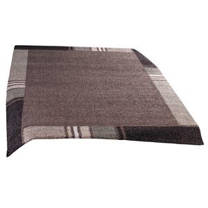 Frisee-Teppich CASA - braun - 80x150 cm