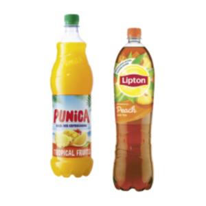 Lipton Ice Tea oder Sparkling oder Punica