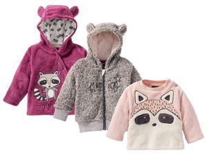 LUPILU® Baby Mädchen Teddyjacke-/pullover