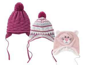 LUPILU® Baby Mädchen Wintermütze
