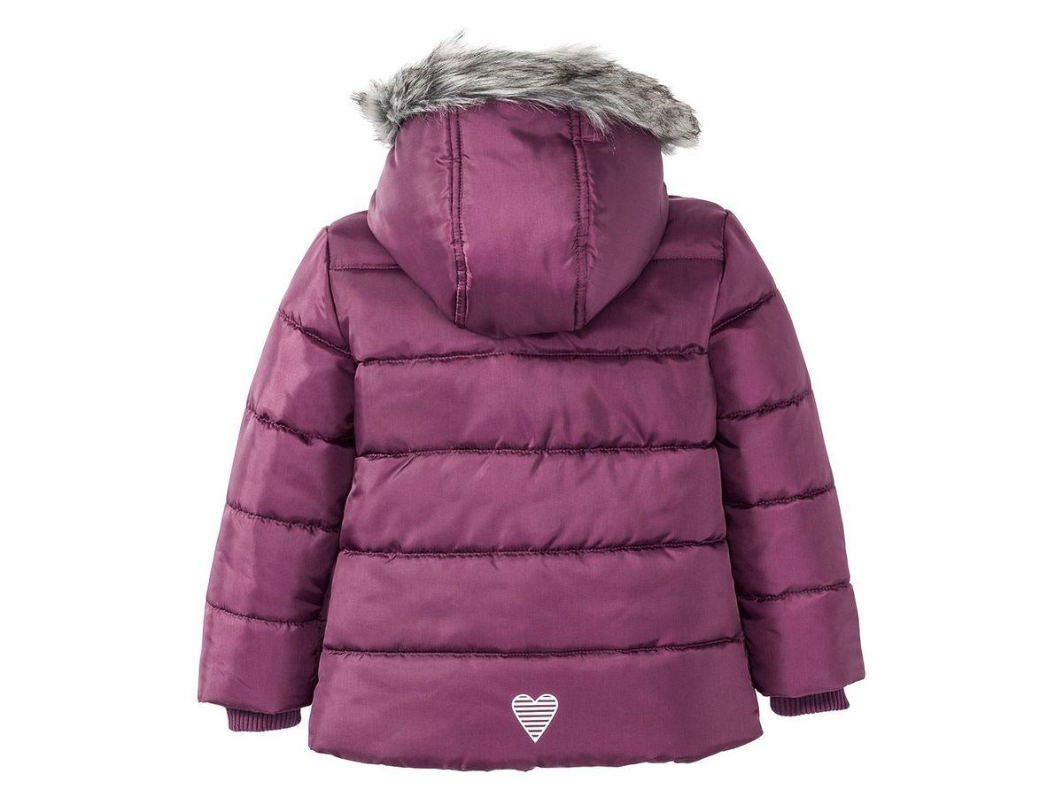 Bild 3 von LUPILU® Kleinkinder Mädchen Winterjacke