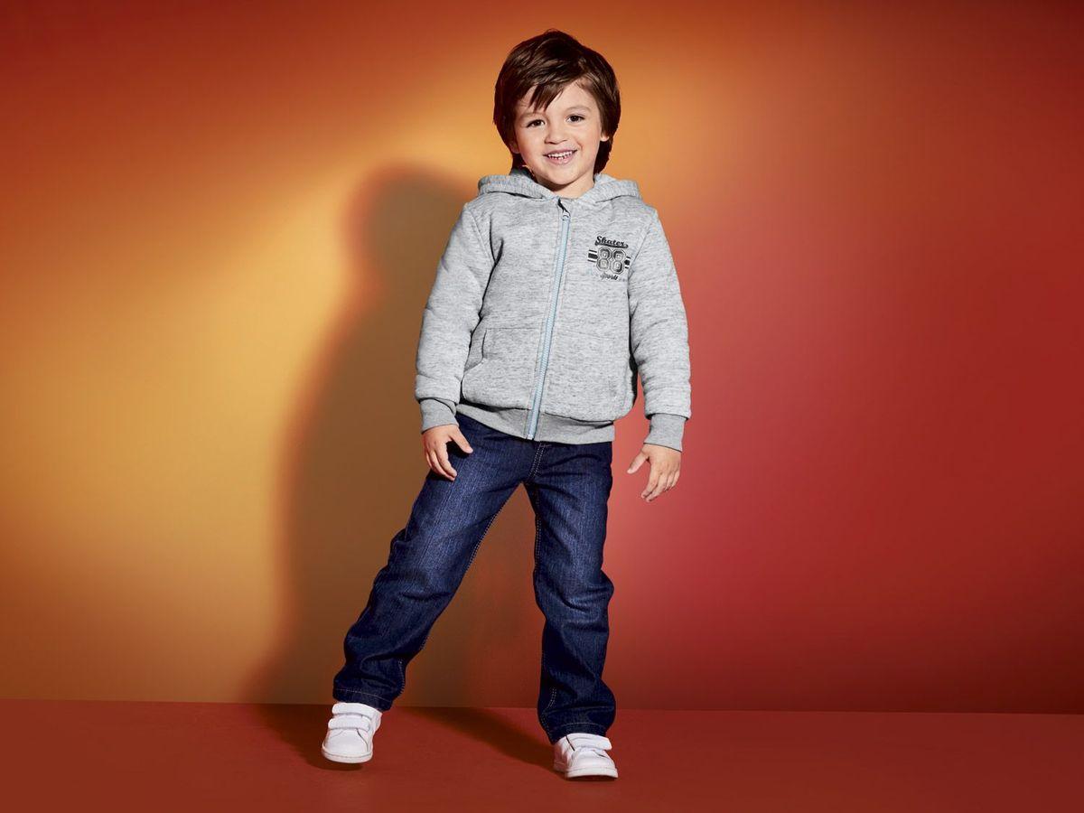 Bild 4 von LUPILU® Kleinkinder Jungen Sweatjacke