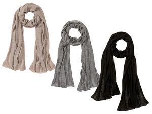 ESMARA® Damen Schal mit Kaschmir