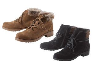 ESMARA® Damen Leder-Boots