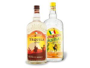 2 x 0,7-l-Flasche Corrida Tequila Paket