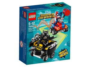 LEGO® DC Universe Super Heroes 76092 Mighty Micros: Batman™ vs. Harley Quinn™