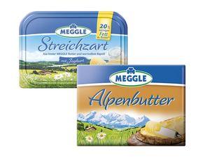 Meggle Alpenbutter/Streichzart/ Joghurtbutter
