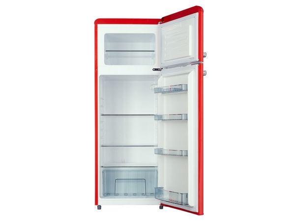 Retro Kühlschrank Gefrierkombination : Respekta kühl gefrierkombination kg146 retro von lidl ansehen