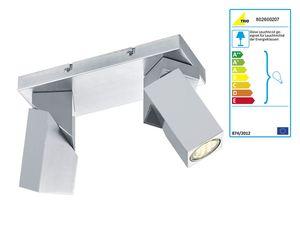 Trio LED-Deckenleuchte DAXTER 2-flammig
