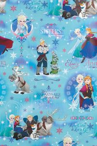 Geschenkpapier DISNEY - Frozen