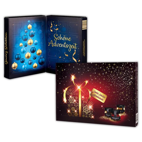Gewürz Weihnachtskalender.Erlesene Gewürz Selection Adventskalender