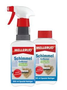 Schimmelentferner Set - Aktivgel + Nachfüllpackung, je 500 ml Mellerud