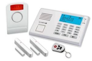 Alarmanlagen Set Protect 9045 mit Notruf- und Freisprechfunktion Olympia