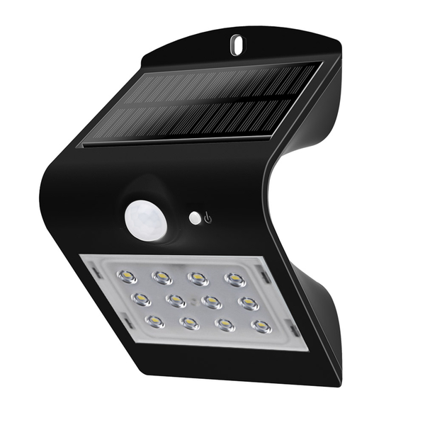 LED Solar Wandleuchten Luceco