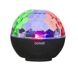 Bluetooth Lautsprecher mit Disco Licht und integriertem UKW-Radio DENVER®