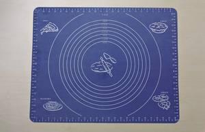 Silikon Backmatte mit Einteilung