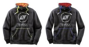 Sweatshirt für Hobby und Beruf, Farbe schwarz-royal Terrax Workwear