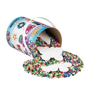HAMA - Bügelperlen: Perleneimer, 10.000 Perlen + 3 Platten