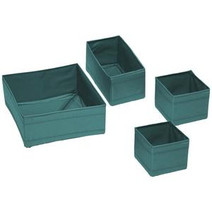 Aufbewahrungsboxen-Set Tina Blau 4er Set