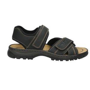 Herren Sandale, schwarz