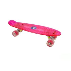 Funbee - Skateboard Cruiser LED Pink