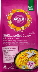 Davert Süßkartoffel Curry