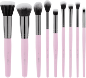 BH Cosmetics  Pinselset Mrs. Bella - 9-teiliges Pinselset mit Pinselhalter