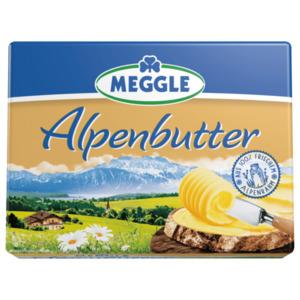 Meggle Alpenbutter oder Streichzart