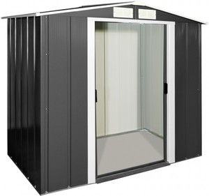 Tepro Metallgerätehaus Eco 6 x 4 ,  202 x 122,1 x 180,5 cm (BxTxH)