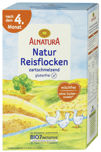 Alnatura Bio Natur Reisflocken nach dem 4. Monat 250 g