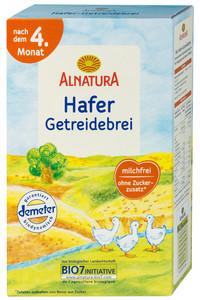 Alnatura Bio Hafer Getreidebrei nach dem 4. Monat 250 g