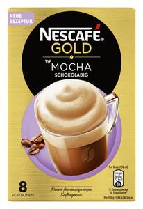 Nescafé Gold Typ Mocha schokoladig 8x 18 g