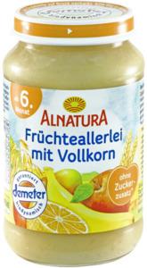 Alnatura Bio Früchteallerlei mit Vollkorn, ab dem 6. Monat 190 g