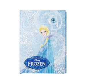 Frozen Tagebuch mit LEDs