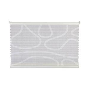 Plissee Free Move - Weiß / Weiß - 60 x 130 cm, mydeco