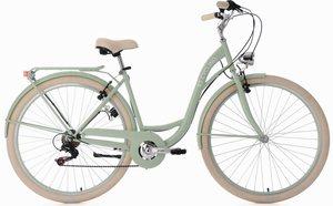 KS Cycling Cityrad »Balloon«, 6 Gang Shimano Tourney RD-TZ 50 Schaltwerk, Kettenschaltung
