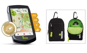Teasi One³ eXtend Rad- & Wander-Navigator ,  mit Bluetooth, inkl. Tasche