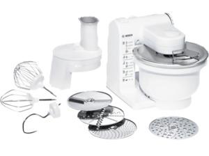 BOSCH MUM4427, Küchenmaschine, Rührschüssel-Kapazität: 3.9 Liter, 500 Watt, Weiß