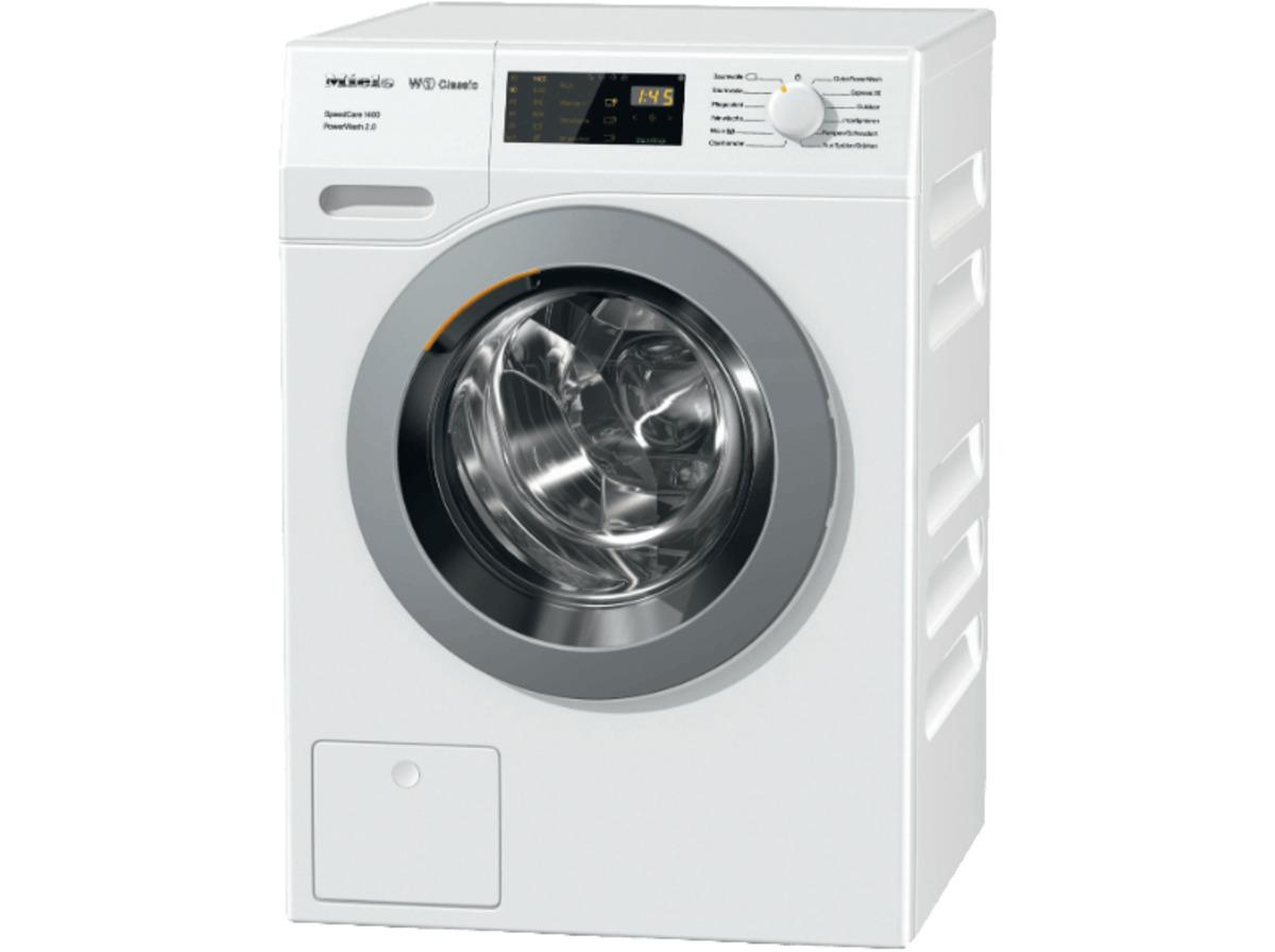 Bild 2 von MIELE WDB 330 WPS SPEEDCARE 1400, 7 kg Waschmaschine, Frontlader, 1400 U/Min., A+++, Weiß