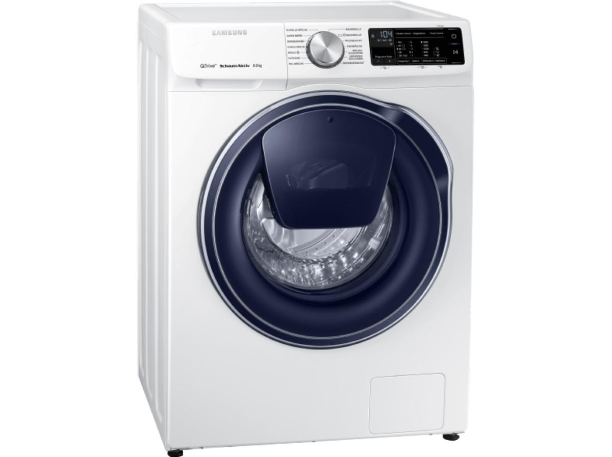 Bild 1 von SAMSUNG QuickDrive™  WW81M642OPW/EG QuickDrive, 8 kg Waschmaschine, Frontlader, 1400 U/Min., A+++, Weiß