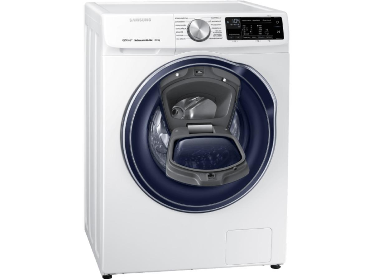 Bild 2 von SAMSUNG QuickDrive™  WW81M642OPW/EG QuickDrive, 8 kg Waschmaschine, Frontlader, 1400 U/Min., A+++, Weiß