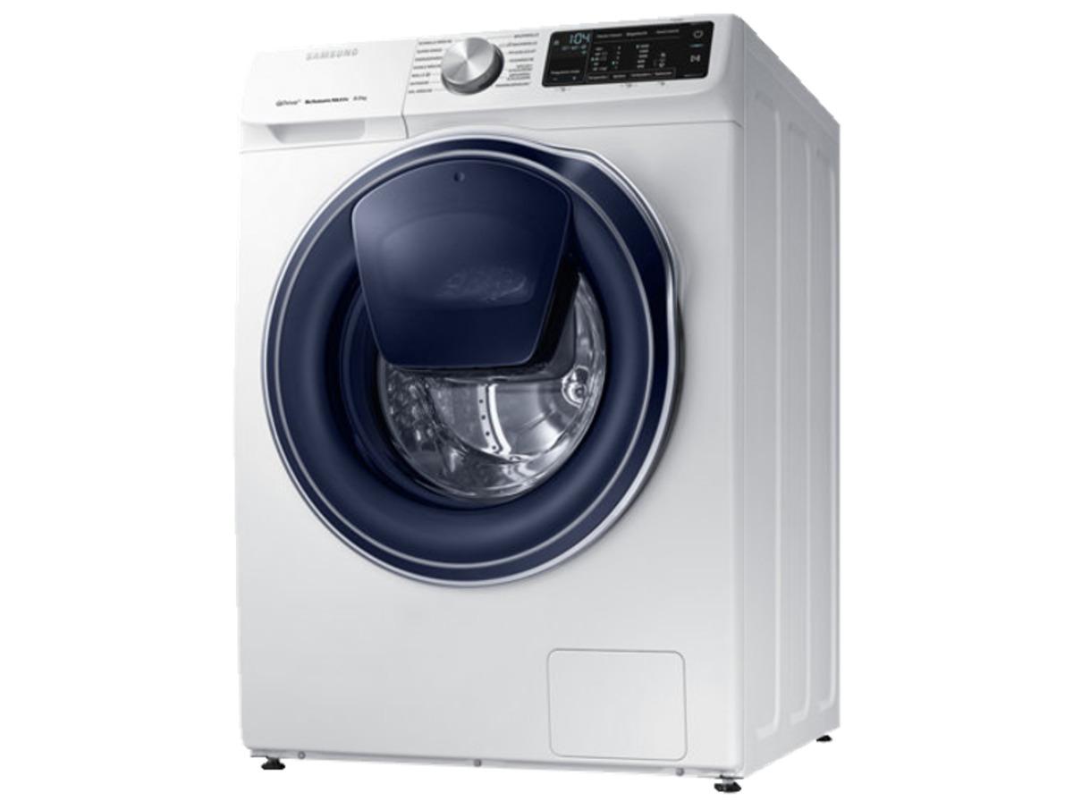 Bild 3 von SAMSUNG QuickDrive™  WW81M642OPW/EG QuickDrive, 8 kg Waschmaschine, Frontlader, 1400 U/Min., A+++, Weiß