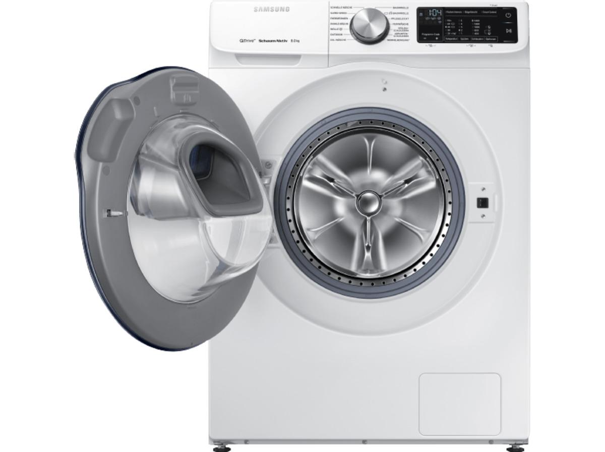 Bild 4 von SAMSUNG QuickDrive™  WW81M642OPW/EG QuickDrive, 8 kg Waschmaschine, Frontlader, 1400 U/Min., A+++, Weiß