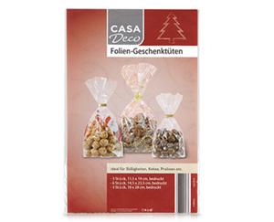 CASADeco Foliengeschenktüten
