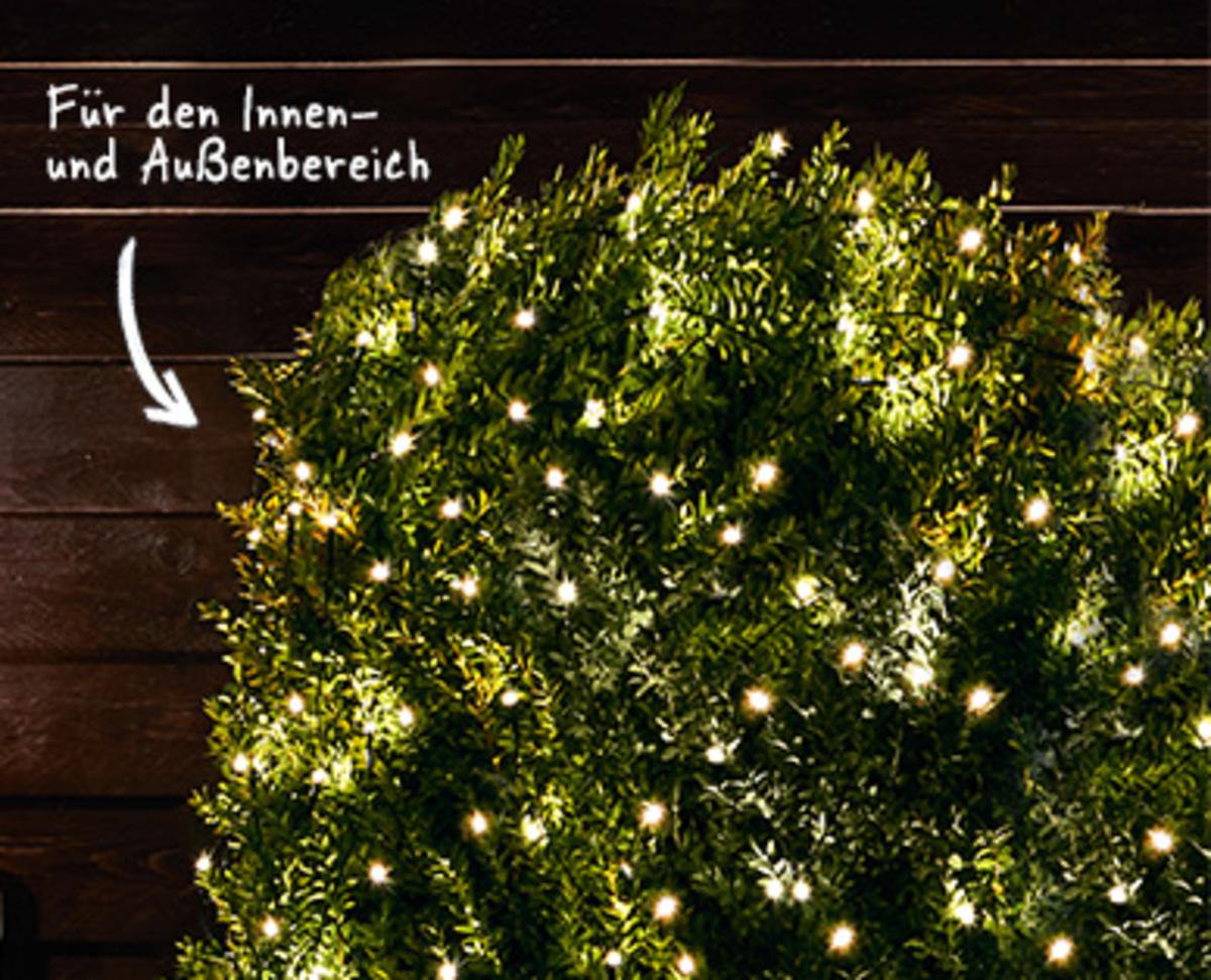 Bild 3 von CASADeco Außenlichternetz/-vorhang