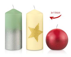 CASADeco Weihnachtliche Kerzen