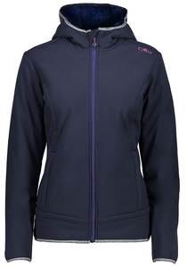 CMP Zip Hood - Outdoorjacke für Damen - Blau