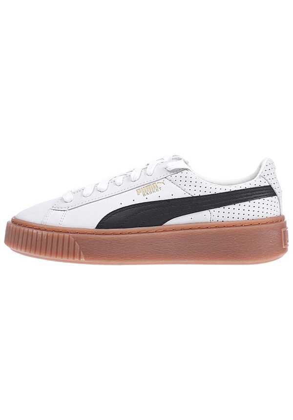 Puma Basket Platform Perf Gum - Sneaker für Damen - Beige