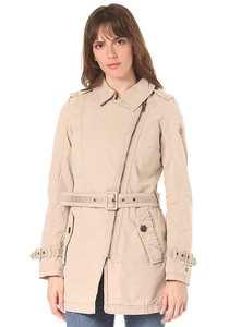 khujo Ansonia - Mantel für Damen - Beige