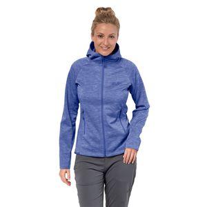 Jack Wolfskin Fleecejacke Frauen LA Cumbre Trail Jacket L blau